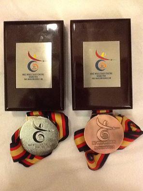 medale dwa